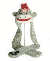 Knitwits Sock Monkey Scarf Hat (А4302)