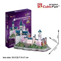 CubicFun пазл 3D Neuschwanstein Castle Led