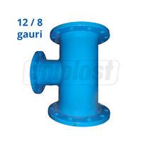 cumpără Teu fonta cu flanse dn 250 х 100 PN 10, L=425mm (12/8 gauri) Blucast în Chișinău