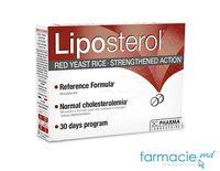 Liposterol (MONACOLINA K 10mg) comp. N30  (colesterol control, program 30 zile) 3Chenes