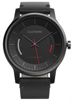 Garmin vivomove Classic Black Leather Band