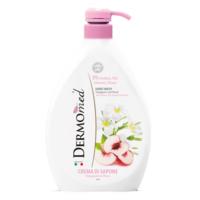Жидкое мыло для рук Dermomed с экстрактом Белого персика и Плюмерии, 600 мл