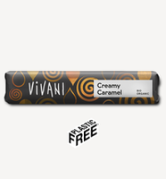 Шоколадный  батончик с карамелью Vivani  35g