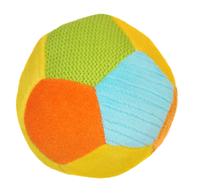 BabyOno погремушка велюровая Мячик