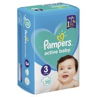 Pampers Active Baby 3 (6-10 кг.) 20 шт.