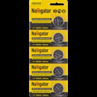 Батарейки серии NBT-CR (Литиевые) CR-2032