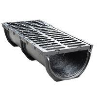 cumpără Gratar fonta canaliz. 750*300x190mm 41kg EN124 D400 (tava rotunjita) în Chișinău