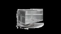 Загрузочная секция металл для резинового мусоропровода