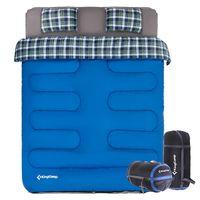 купить Спальный мешок плюс простынь на подтяжках KingCamp KS3139 (988) BLUE в Кишинёве