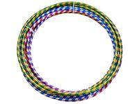 Обруч D75cm разноцветный пластиковый