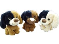 купить Игрушка мягкая Собака 19cm сидящая с большими глазами в Кишинёве