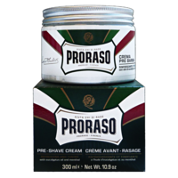 КРЕМ ДО БРИТЬЯ PRORASO GREEN PRE-SHAVING CREAM 300ML