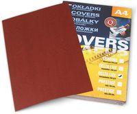 ARGO Картон ARGO Delta A4/250г/м2, 100 листов, бордовый