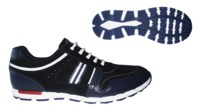 Кожанные кроссовки BELKELME (08424-3/049)