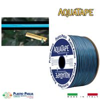 Лента 16mm x 6mil, 10cm, 0.8 BAR, 0.9lph - Aquatape Plastic Puglia