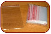 Пакет пластиковый 120х180мм с застежкой, 100 штук