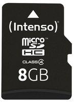Сard de memorie Intenso MicroSD 8GB Class 4