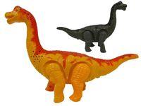 Динозавр (бронтозавр) шагающий музыкальный 24cm