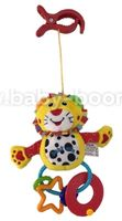 "Baby Mix EF-TE-8377D-18L Игрушка для путешествий ""Лев"""