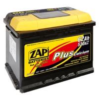 Аккумулятор ZAP 62 Ah Plus