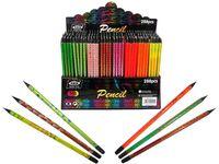 Creion simplu 1buc negru cu desen