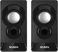 Колонки 2.0 Sven 300, 6 Вт, Black