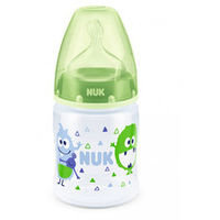 Бутылочка NUK FC c силиконовой соской 150 мл (0-6 мес) зеленая