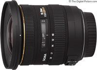 Zoom Lens Sigma AF  10-20mm f/3.5 EX DC HSM F/Can
