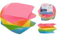 Бумага для заметок 500листов, разных цветов