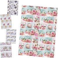 Бумага для упаковки POL-MAK 99.5x68.5см Цветы