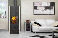 купить Каминная печь - ROMOTOP EVORA 01 AKUM с опцией аккумуляционный комплект (накопитель тепла) в Кишинёве