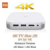 Xiaomi Mi TV Box 3S PRO, 4K