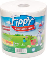 FIPPY Кухонные полотенца 2 слоя 600л  138m