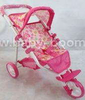 Baby Mix ME-9326C-M1505W Трёхколёсная коляска для кукол