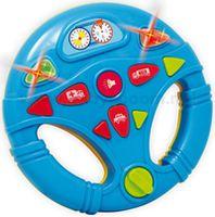"""Baby Mix PL-150391B  Музыкальная обучающая игрушка """"Руль"""" синий"""