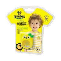 Репеллент Gardex Baby Клипса с картр. от комаров 3,6 г (клипса 4 weeks), yellow, 0154