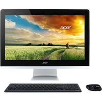 "All-in-One PC - 23,8"" Acer Aspire Z3-715 FullHD Touch (DQ.B86ME.001) Intel® Core® i7-7700T up to 3,8 GHz, 8Gb DDR4 RAM, 2TB HDD, DVD-RW, Card Reader, Intel® HD 630 Graphics, Wi-Fi, BT, Gigabit LAN, 135W PSU, FreeDOS, Wireless KB/MS, Black/Silver"