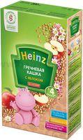 Heinz Гречневая  кашка без молока с яблоком (4m+)