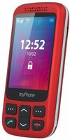 MyPhone Halo S, Red