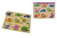 Eichhorn Пазл деревянный Dino, 10 частей
