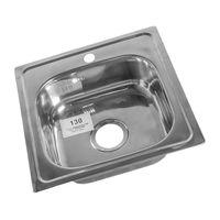 Кухонная  мойка  ROSSING  46  46  (130)  0.6