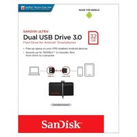 32GB Dual USB Drive 3.0 SanDisk Ultra