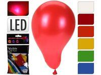 Набор шаров воздушных 3шт с LED с подсветкой, разноцветные
