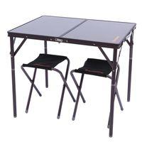 купить Стол со стульями складной туристический KingCamp KC3907 (1001) в Кишинёве