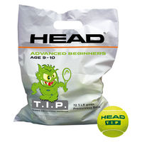 Тенисные мячи HEAD T.I.P. Green 72-ball polybag
