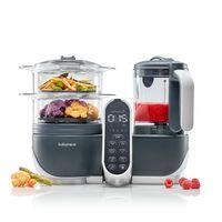 Многофункциональный кухонный комбайн 5 в 1 Babymoov Nutribaby+ Industrial Grey