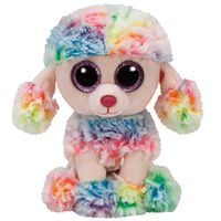 Ty Poofie Multicolor Poodle 15cm (TY37223)