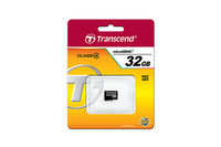 4GB MicroSDHC Transcend TS4GUSDC4, Class 4