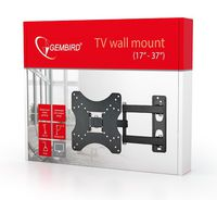 "cumpără TV-Wall Mount for 17-37""- Gembird ""WM-37RT-01"", Rotate & Tilt, max. 40 kg, Rotation 90°, Tilting angle 15°, Distance TV to Wall: 40-340 mm, max. VESA 200 x 200, Black în Chișinău"