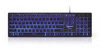 Gembird KB-UML3-01-RU Multimedia keyboard, Silent